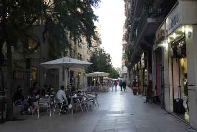 Building in Poble Sec, close to the historic centre of Barcelona